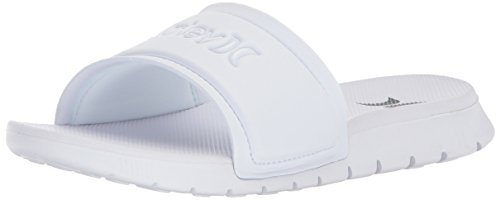 Nike W Hrly Fusion Slide, Scarpe da Ginnastica Basse Donna, Bianco (White/Black 001), 39 EU