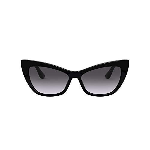 Dolce & Gabbana DG4370, Negro, gris (black/Grey Gradient), Talla unica