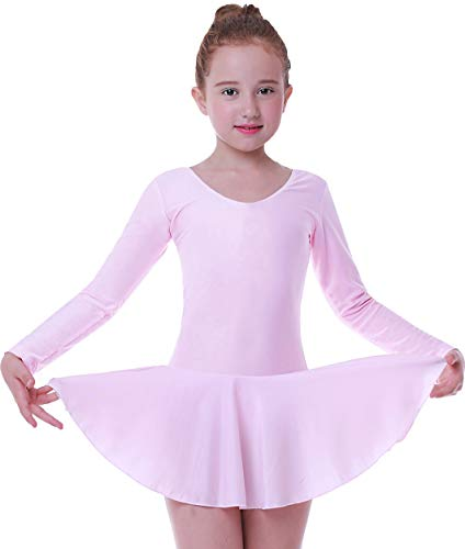 Seawhisper Tütü Kinder Balettkostüm Mädchen Leotard Ballet Girls Rosa 122-128