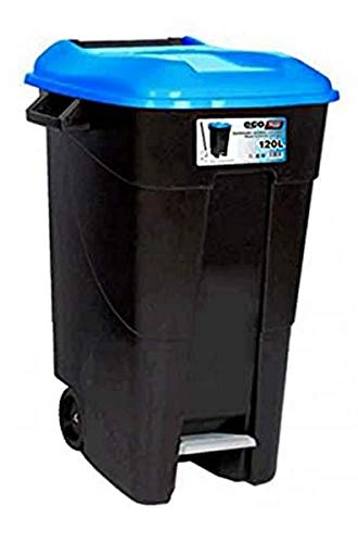 Tayg EcoTayg 120 - Contenedor de residuos , Azul, 120 l