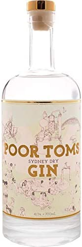 Poor Toms Gin Sydney Dry Gin 700mL