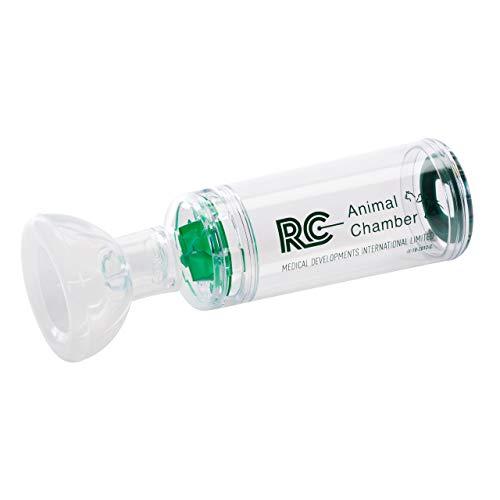 CEGLA RC-Animal Chamber Katze Inhalierhilfe mit Silikonmasken, ermöglicht Inhalation von Medikamenten, Inhalator für Katzen und Kitten bei Atemwegserkrankungen wie felines Asthma, Atemnot, Bronchitis