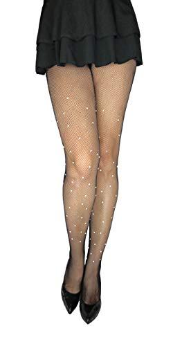 Marilyn elegante netpanty met parels versierd