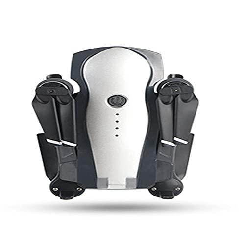 JANEFLY El dron con cámara 4K es Adecuado para Adultos, el cuadricóptero con Funciones de Retorno automático, sígueme y Motor sin escobillas
