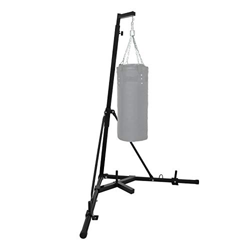 Happybuy Folding Boxing Heavy Bag Stand Sandbag Rack Portable 330LB