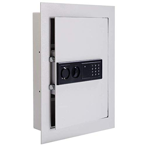 in Wall Key Safe | Between The Studs Fire Resistant Wall Mounted Lockbox