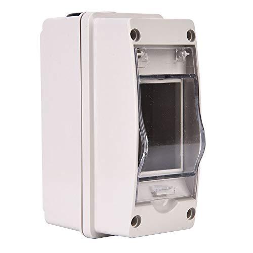 Elektroverteiler Instrumentenkasten Projektgehäuse Einfach zu montierende Anschlussdose, ABS-Platte 34 mm Fensterbreite Drucktyp für Steuerbox