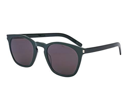 Yves Saint Laurent Sonnenbrillen (SL-28-SLIM 005) grün dunkel - grau