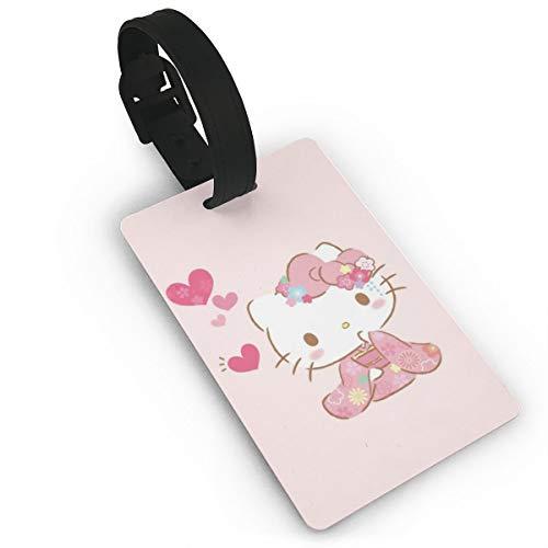 Etiqueta equipaje Hello Kitty maleta Rosa Hello Kitty3