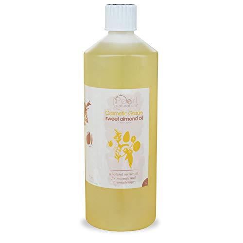 1 liter 100% Pure, qualité cosmétique, huile d'amande douce (1 liter)