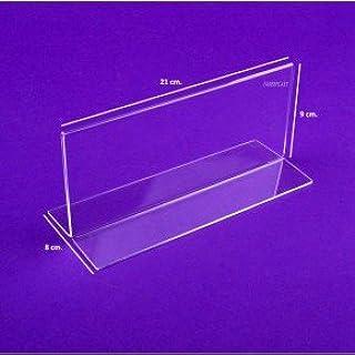 Display Metacrilato Base Recta ECONOMY: Amazon.es: Oficina y papelería