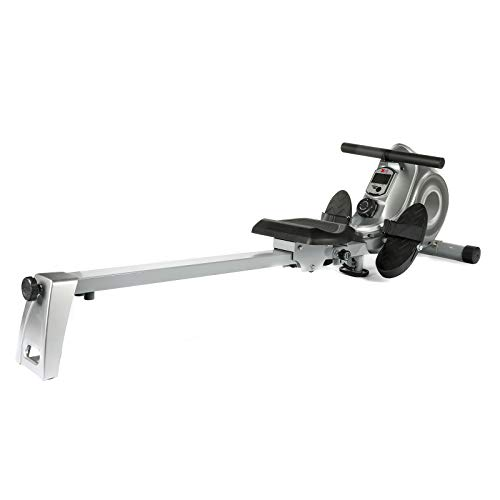XS Sports R310 Folding Rowing Machine - Indoor Exercise Equipment - Magnetic Fitness Rower for Home