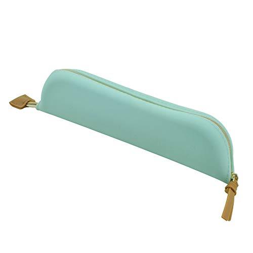 Legami - Estuche de silicona suave, color Agua