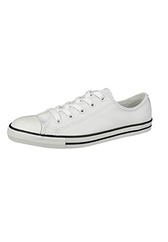 Converse Chucks 537108C Chuck Taylor All Star Dainty OX White Weiß, Groesse:40 EU / 6 UK / 8.5 US / 25.5 cm