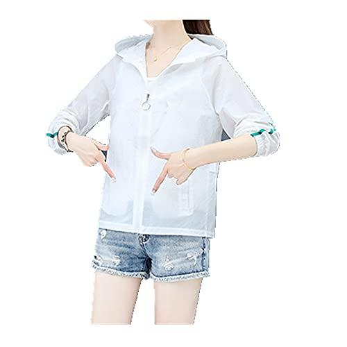 Corto mujer protector solar ropa mujer verano anti ultravioleta suelto transpirable protector solar ropa delgada capa