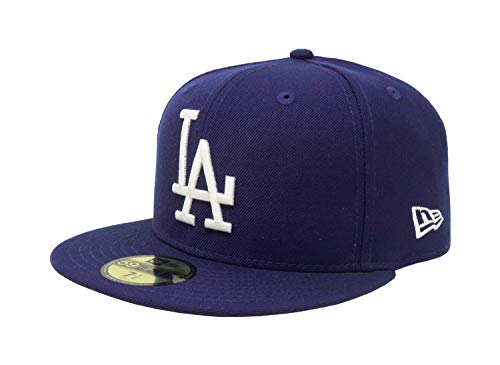 New Era 59Fifty Hat Los Angeles Dodgers LA Cooperstown 1958 Wool Fitted Cap