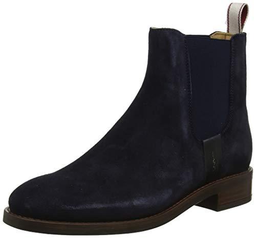 GANT Footwear Damen FAY Chelsea Boots, Blau (Marine G69), 40 EU