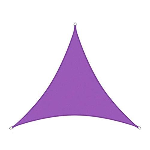 Tabla de Vela a Prueba de Sol a Prueba de Sol Patio al Aire Libre Pájaro Permeable Permeable Bloque UV Tela Durable Outdoor 5T0J7L (Color : Purple, Size : 3X4X5M)