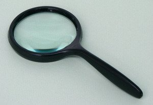 SEOH Magnifying Glass Plastic Mount Plastic Handle 3 inch