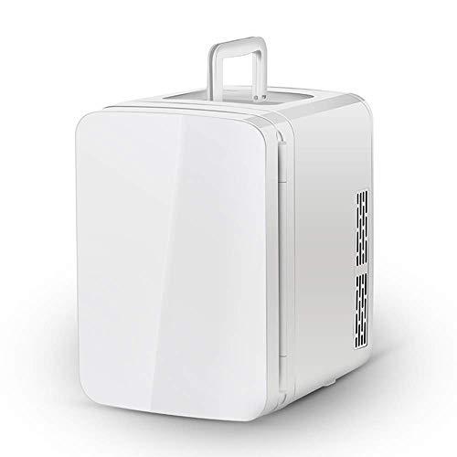 Refrigerador para automóvil / Mini congelador / Pequeño portátil-10L- Bajo nivel de ruido, transición de frío y calor, estructura de tres niveles, automóvil 12V / hogar 110-220V, adecuado para famili