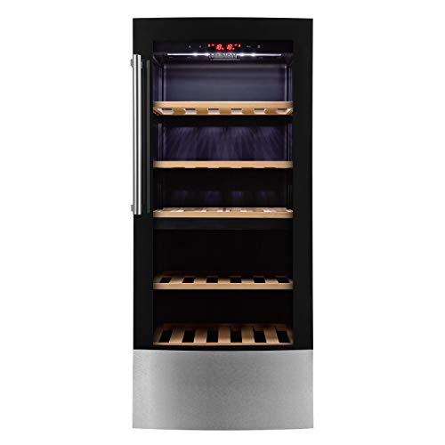 MEDION MD 37104 cantina vino Libera installazione Nero 59 bottiglia/bottiglie Cantinetta vino con compressore A