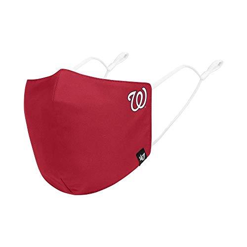 47 MLB Team Color Core Adjustable Face Covering Mask, Adult - Washington Nationals