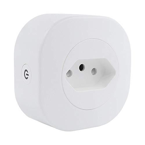 Adaptador de Tomada Inteligente HI by Geonav, 10A, Wi-Fi, Bivolt, compatível com Alexa