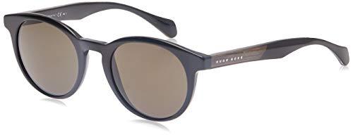 BOSS ORANGE BOSS0912/S HUGO BOSS Sonnenbrille BOSS0912/S-1YS-50 Herren Oval Sonnenbrille 50, Schwarz