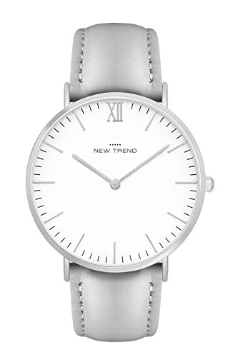 New Trend - Love for Accessories Damen Uhr analog Quarzwerk mit Kunst-Leder-Armband 1M-VGYX-FDXB