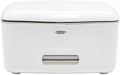 OXO Good Grips PerfectPull Wipes Dispenser,White,5.875' L x 6.625' W x 3.375' H