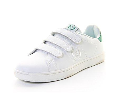 Sergio tacchini - Stgrantorino scratchblc/v - Chaussures mode ville - Blanc - Taille 37