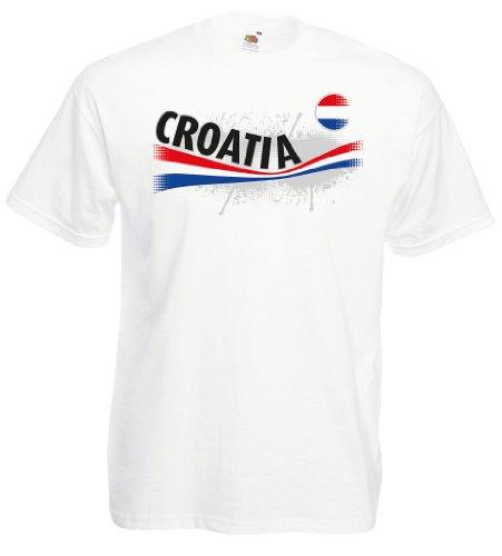 Croatia / Kroatien Herren T-Shirt Vintage TrikotL
