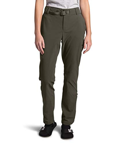 The North Face Women's Paramount Active Mid Rise Pant, New Taupe Green, 10 Regular