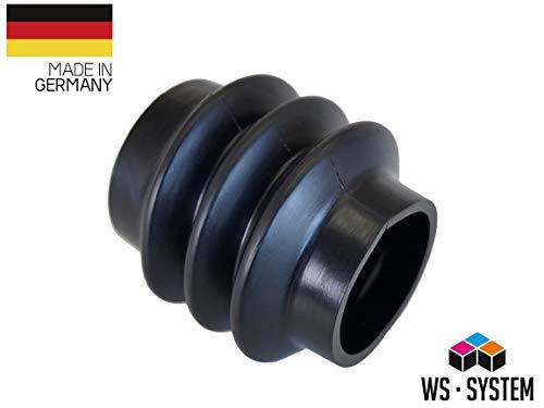 2 Stück Universal Faltenbalg Manschette Achsmanschette L 40mm-65mm Ø37mm/45mm