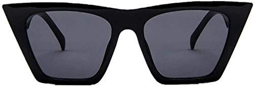 XGBDTJ- Moda Para Mujer De Gran Tamaño Vida de Moda Gafas De Sol De La Vendimia Super Cat Eye De Las Mujeres Frescas Gafas Gafas De Sol De Aviador Gafas De Sol Gafas De Deporte Gafas