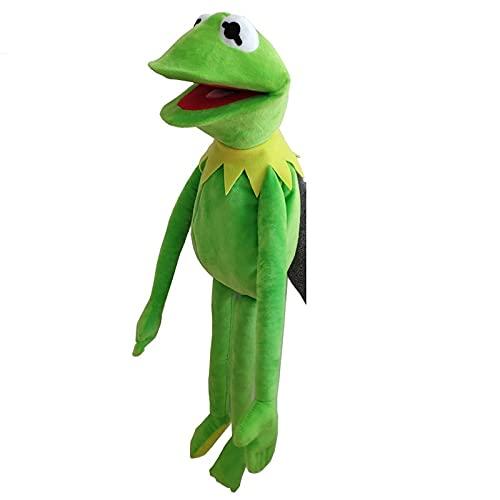 Peluches Marionetas de Barrio Sésamo de 40cm The Muppet Show Frog Peluche de Juguete Muñeco de Peluche Regalos de cumpleaños para niños