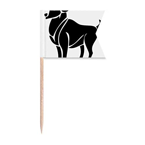 Sternbild Widder Sternzeichen Symbol Zahnstocher Flaggen Markierung für Party Kuchen Lebensmittel Käseplatte