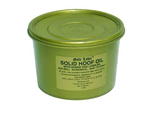 Gold Label Huile de Sabot Unie pour Homme Noir 500 ML