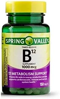 Spring Valley - Vitamin B-12 1000 mcg, Timed Release, 150 Tablets