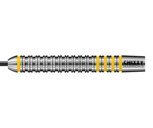 Harrows Steel Darts Dave Chisnall Chizzy 80% Tungsten Steeltip Dart Steeldart (26 Gr)
