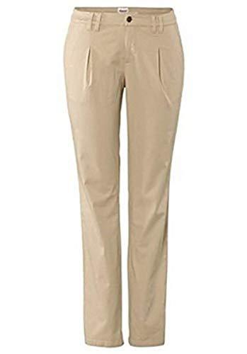 Pantaloni con Elasticizzato di sheego Beige - cotone, beige, 3% spandex.\n\t\t\t\t 97% cotone, Donna, 24