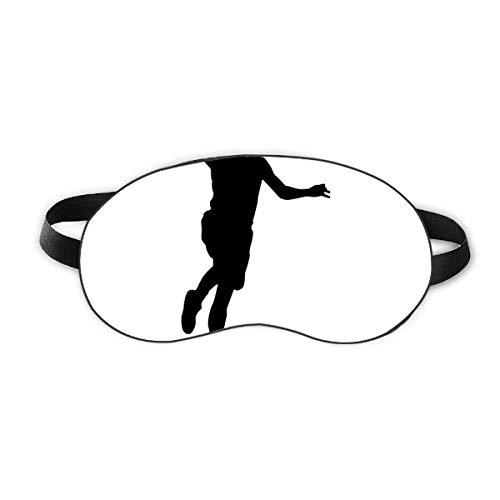 Slam Dunk Jumping Sports Basketball Sleep Eye Shield Soft Night Blinfold Shade Cover