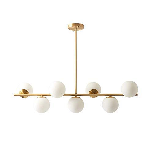 Lámpara De Araña De Vidrio LED Postmoderno Con Luces Mágicas Para Dormitorio Y Restaurante, Lámpara De Decoración Interior Moderna Magia De Candelabro