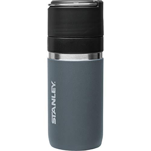 STANLEY(スタンレー) ゴーシリーズ セラミバック 真空ボトル 0.47L チャコールグレー 直飲み 水筒 飲み物 ...