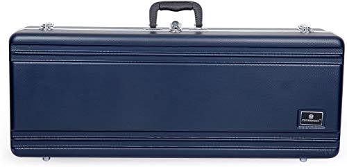 Crossrock ABS Molded Tenor Saxophone Case-Rectangular,with Single Shoulder Strap...