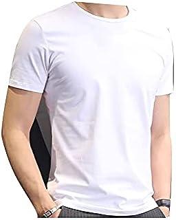 Wanxiaoyyyinnsdx Mens Henley Short Sleeve, Brand New Cotton Men's T-shirt Short-sleeve Man T shirt Short Sleeve Pure Color...
