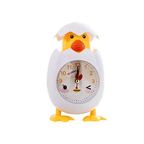 Eierschale Wecker Weiß Kurios Kinder Kinder Bedside Elektronische Uhr Egg Shell Design Uhr