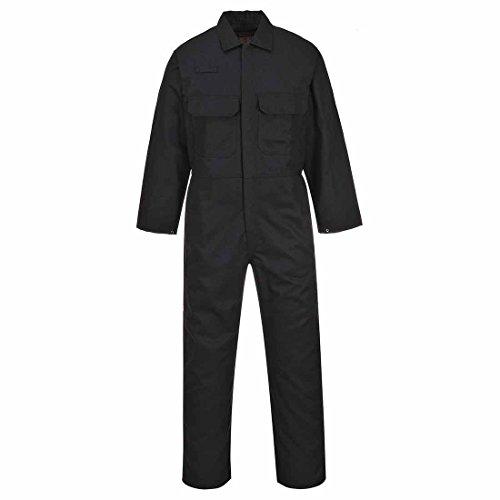 Portwest Biz1 Bizweld Boilersuit, kleur zwart, maat XS (