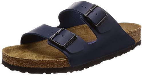 Birkenstock Damen Arizona 51751 Pantoletten, Blau (Blau), 36 EU