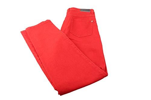 BASLER Damen Hose Jeans Jeanshose Gr. 36 rot Neu